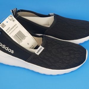 adidas Shoes - Adidas Women's Black Neo Cloudform lite racer slip